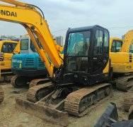 现代60-7二手挖土机