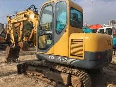 玉柴55-9国产二手小挖土机出售
