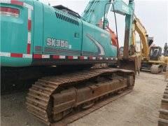 二手神钢SK350挖掘机私人转让