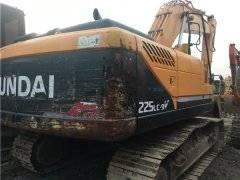 二手现代225-9V挖掘机