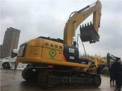 进口卡特320D二手挖掘机出售