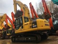 进口二手小松PC200-8N1挖掘机出售
