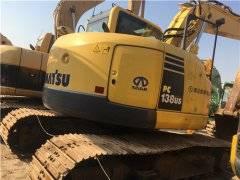 进口二手小松138US挖掘机市场